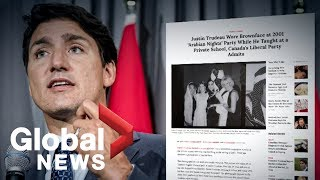 Trudeau apologizes after Time …