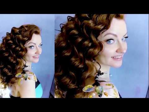 Украшения ручной работы прическа и макияж фотосессия монтаж видео