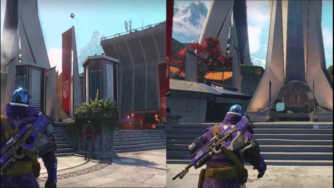 DESTINY - Xbox one vs xbox 360 - Graficos - YouTube
