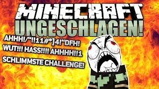 SCHLIMMSTE CHALLENGE EVER! - Minecraft UNGESCHLAGEN #27 - Survival Games | ungespielt