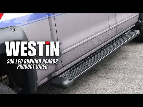Westin SG6 LED Running Boards Product Features