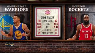 34 Live By The Three Die By The Three 34 Dan Patrick Breaks Down Rockets Warriors Game 7 5 29 18