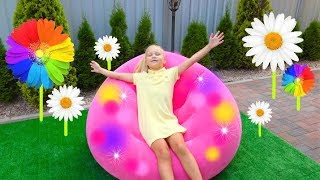 How to make colorful playhouse for kids !
