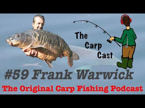 The Carp Cast 59 Ft. Frank Warwick & Zee Germans!
