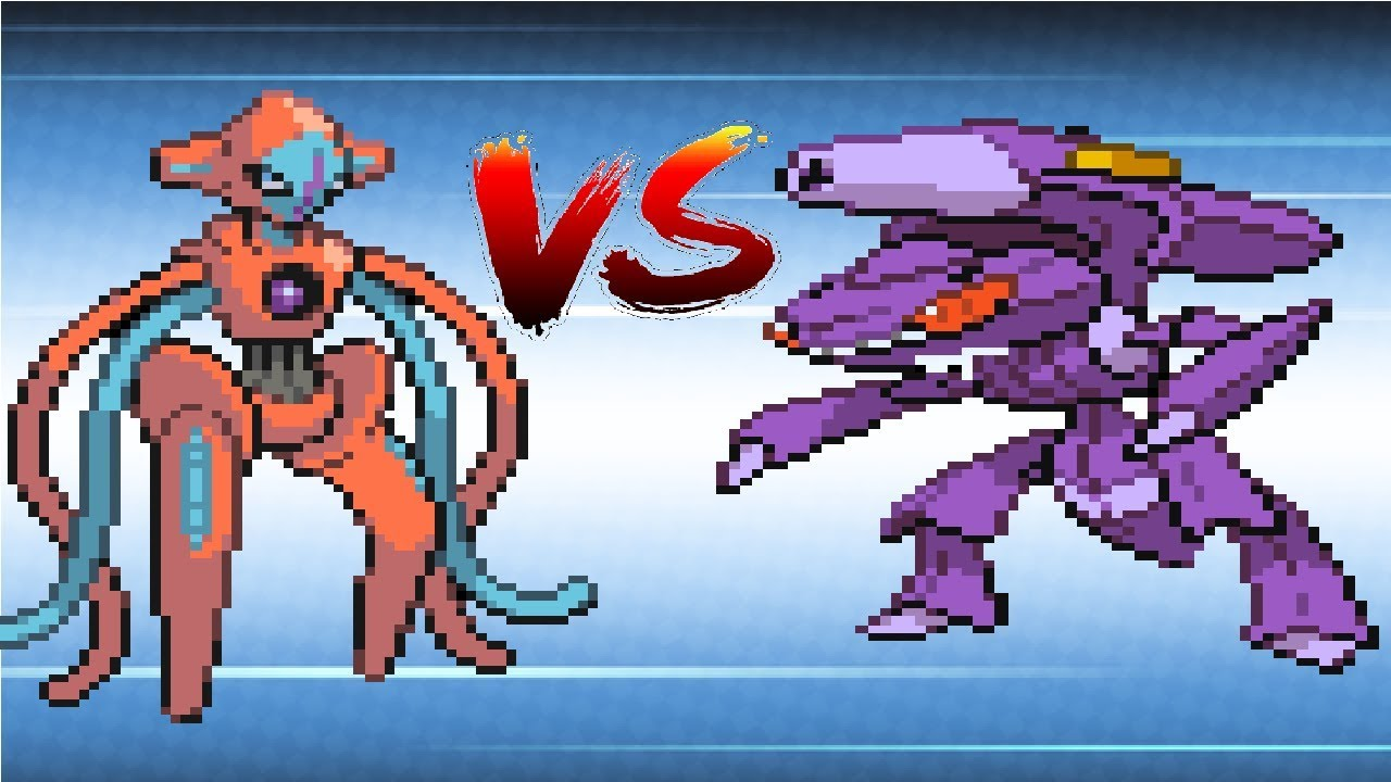 Pokemon Mew vs Mewtwo vs Darkrai vs Cresselia vs Deoxys vs ...