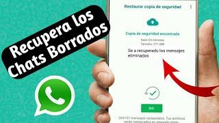 Como Recuperar Conversaciónes De WhatsApp Borradas 2018
