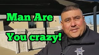 Asking Cops The Same Silly Questions They Ask Us - Original James Freeman Script Flip