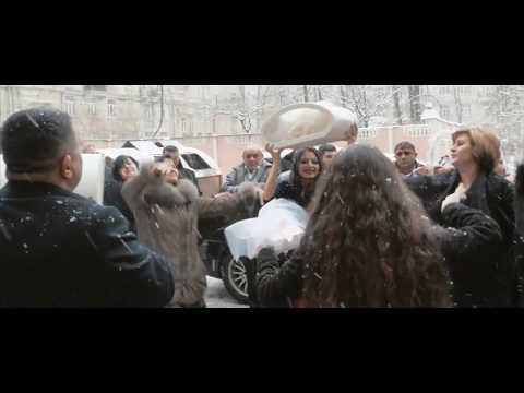 Армянская свадьба - танец у дома невесты