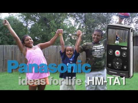 Panasonic HM-TA1 Pocket Video Camera Review Sample Footage Unbox
