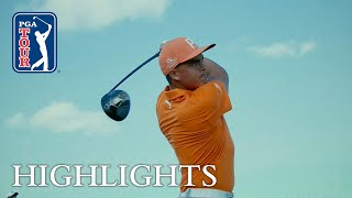 Rickie Fowler extended highlights  Round 4  Hero