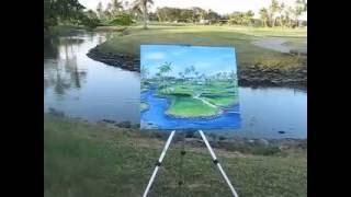 Golf Course, Denarau, Fiji Island