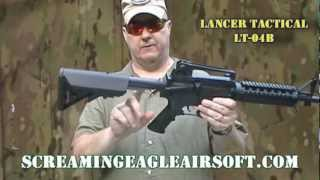Lancer Tactical LT-04B Airsoft AEG M4 RIS Carbine Review