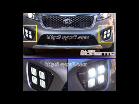 [DIAGRAM_38IS]  2015~2018 KIA Sorento LED Fog Light Lamp Complete Kit,Wiring Harness+One  Button Switch - YouTube | 2015 Kia Sedona Fog Light Wiring Harness Kit |  | YouTube