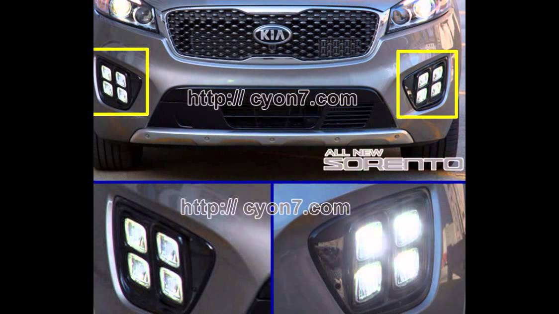 [DIAGRAM_4FR]  2015~2018 KIA Sorento LED Fog Light Lamp Complete Kit,Wiring Harness+One  Button Switch - YouTube | 2015 Kia Sedona Fog Light Wiring Harness Kit |  | YouTube