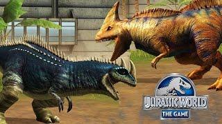 НОВЫЕ ДИНОЗАВРЫ Jurassic World The Game (NOX эмулятор андроида) прохождение на русском