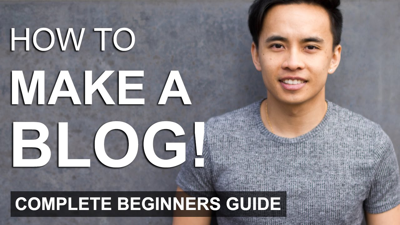 How to Make a WordPress Blog - Step by Step For Beginners!