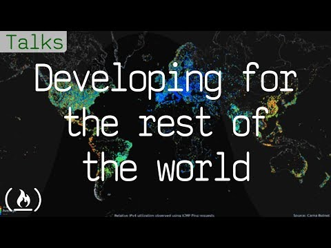 Developing For The Rest Of The World