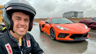 homepage tile video photo for NEW 2020 C8 CORVETTE ON TRACK - My Driving Review