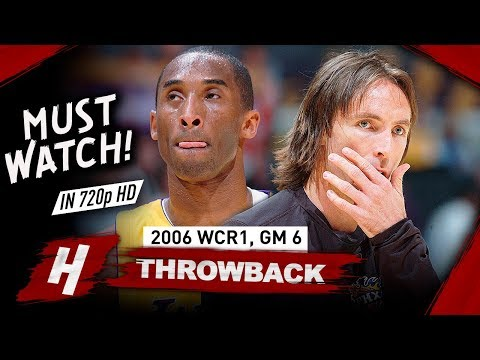 Steve Nash vs Kobe Bryant EPIC Game 6 Duel Highlights 2006 NBA Playoffs - Kobe 50 Pts, CLUTCH Nash!