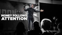 Money Follows Attention - Grant Cardone Speaks at 8% Nation in Nashville, TN