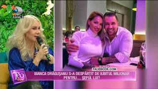 Teo Show (10.01.2019) - Bianca Dragusanu s-a despartit de iubitul milionar pentru... seful ...