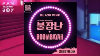 Video BLACKPINK - 불장난 (PLAYING WITH FIRE) + 붐바야 (BOOMBAYAH) (Seoul Music Awards -Studio Version) download MP3, 3GP, MP4, WEBM, AVI, FLV Oktober 2017