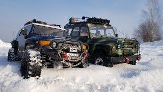 УАЗ против Toyota FJ Cruiser ... Сравнительный тест-драйв
