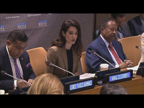 Media Freedom: A Global Responsibility With Amal Clooney