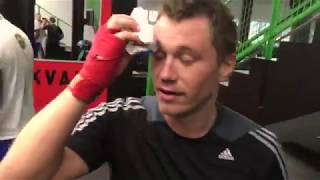 Бокс со звездами Антон Зацепин
