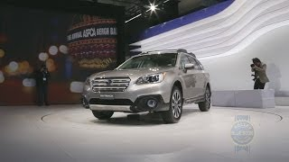2015 Subaru Outback - 2014 New York Auto Show