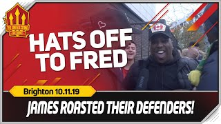 FRED WAS SUPERB Manchester United 3-1 Brighton Fan Cam