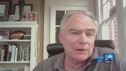 Sen. Kaine says he and his wife tested positive for coronavirus antibodies