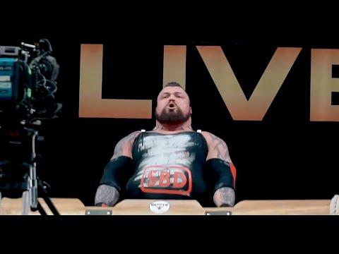EDDIE HALL: World Record LOG Attempt - 230kg/507lbs