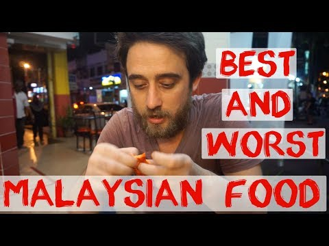 Best Food and Worst Malaysian Food | Penang | Malaysia Travel Vlog 3