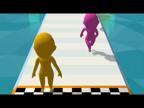 Играю в Fun Race 3D (игра по мотивам Run Race 3D)