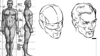 КАК нарисовать ЧЕЛОВЕКА. Пропорции ТЕЛА и ГОЛОВЫ(Полный курс