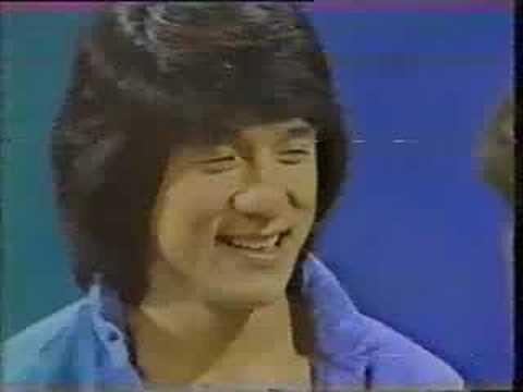 Rare Jackie Chan. Tiswas, UK TV.
