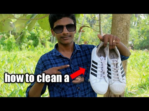 election  how to clean a shoe using toothpaste and baking soda |HM tech| ഇനിമുതൽ ഷൂ വെളുപ്പിക്കാം