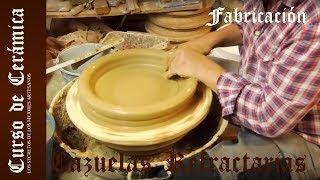 Curso de Cerámica - Fabricar Cazuela de Barro Refractario