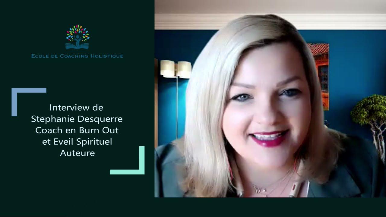 Interview de Stephanie Desquerre auteure de guides de développement personnel et spirituel