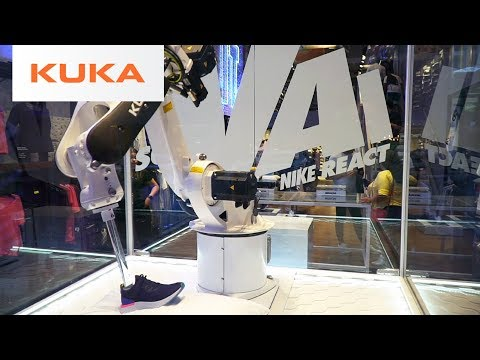 KUKA & Nike Use Robots to Launch Shoes in Brazil