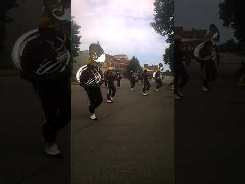 Simmons College Marching Band in Henderson KY Diversity Parade 2017