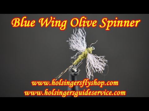 Blue Wing Olive Spinner, Holsinger's Fly Shop