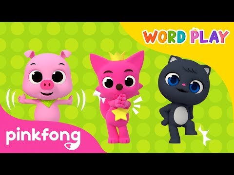 My Body | Word Play | 3D Animation | Pinkfong Songs for Children