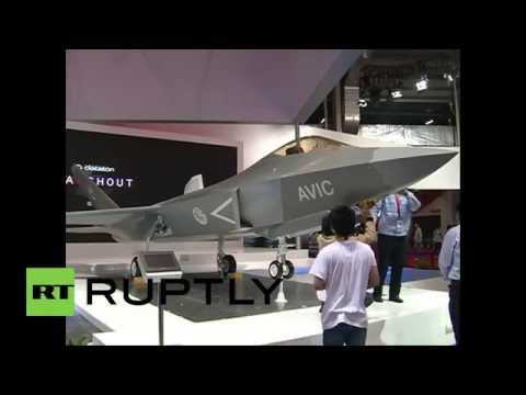 China: Check out the FC-31 stealth fighter jet in flight