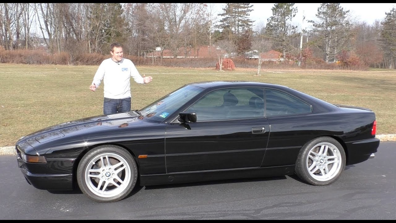 Here's Why the BMW 850CSi Was the Best BMW of the 1990s