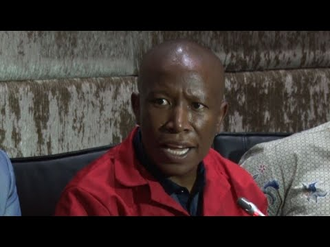 ANC passing from 'one corrupt fellow to another', says Malema