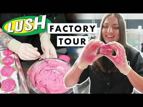 LUSH FACTORY TOUR: VANCOUVER, CANADA