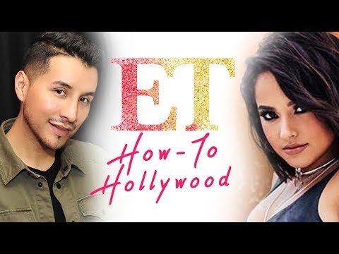 Becky G. 'Mayores' Music Video Glam With Celebrity Makeup Artist Etienne Ortega | How-To Hollywood