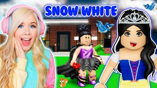 I WAS SNOW WHITE IN BROOKHAVEN! (ROBLOX BROOKHAVEN RP)